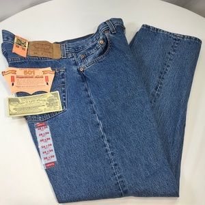 Levi's 501 Vintage Jeans New Old Stock 38 x 30